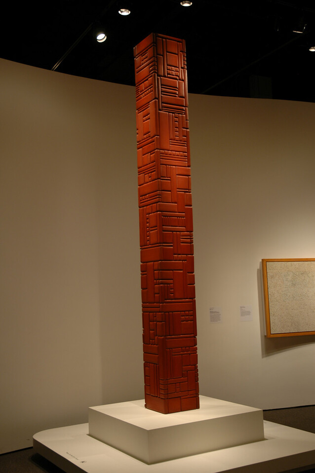 George Morrison Wood Column