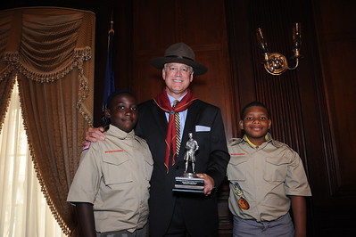"""Construction & Real Estate """"Good Scout"""" Award Reception"""