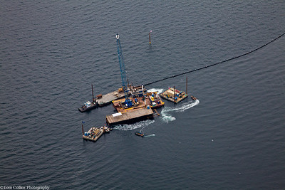 Gig Harbor Outfall Project ~ The Rig