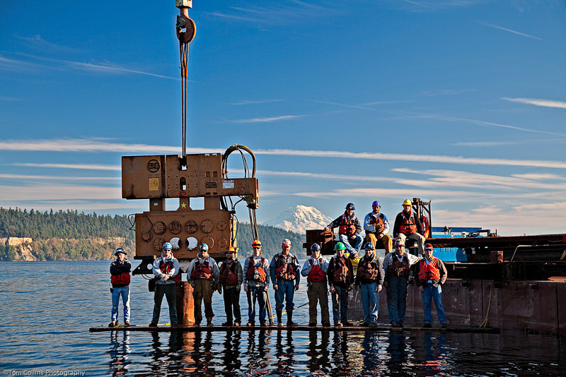 Gig Harbor Outfall Project ~ Advanced American Construction Crew