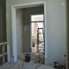 Interior trim work has begun.