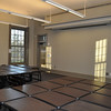 The second-floor west classroom has its furniture and technology infrastructure and awaits the first classes in January.