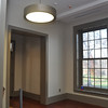 New windows and lighting enhance the building greatly.
