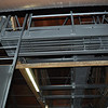 The new catwalk above the performance space in Williams Hall.