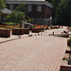 Bricking in front of Seney is nearly done.