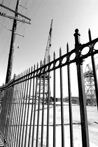 Fence & Crane