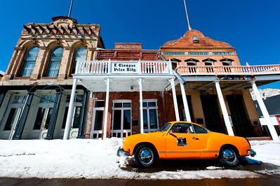 Orange VW