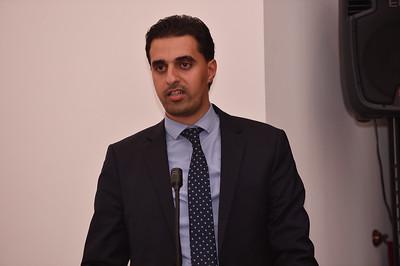 Mr Mohamed Abu-Ragiga, Advisor to the Ministry of Interior