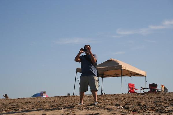 Bautismo y día de los jóvenes en la playa 08-27-2011