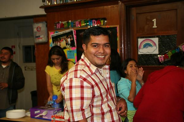 Cumpleaños de Vicente 2007