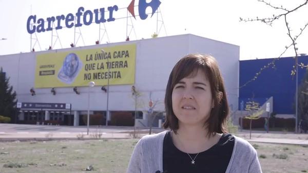 Declaraciones de Celia Ojeda, responsable de la campaña de plásticos de Greenpeace