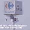 Video para Redes, ¡ACCIÓN en vivo! Pancarta en Carrefour para denunciar el sobreenvasado de plásticos