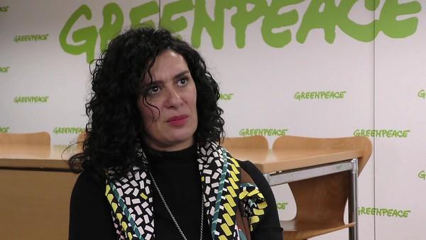 Declaraciones de Reyes Tirado, científica de Greenpeace participante en el informe