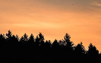 late evening, porvoo, finland