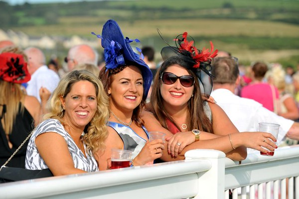 Copyright Click4prints.com<br /> Friday 26th August 2016<br /> Ladies Day Ffos Las BYLINE click4prints.com