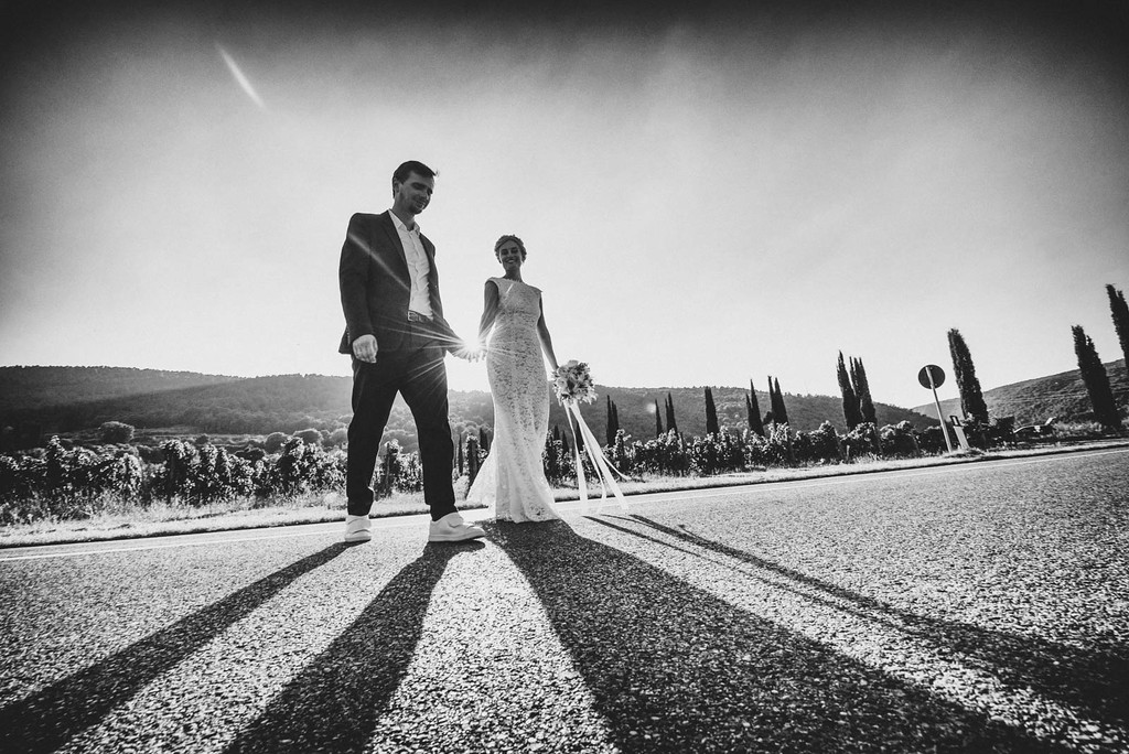 Getting married at Tuscany countryside