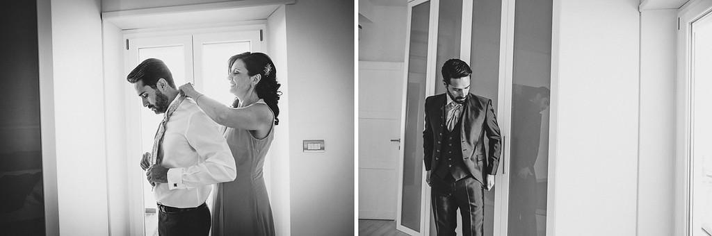 groom dress Cesare Paciotti