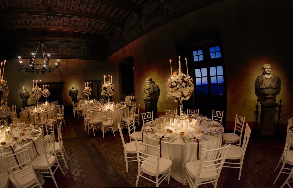 settings Sala dei Cesari