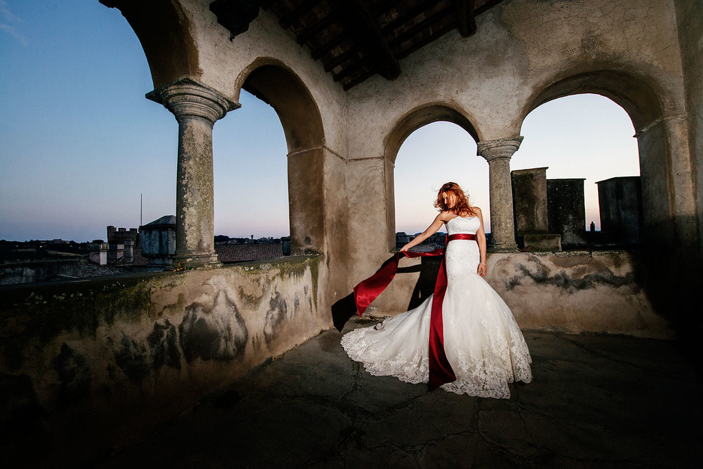 high profile weddings at Castello Odescalchi Bracciano
