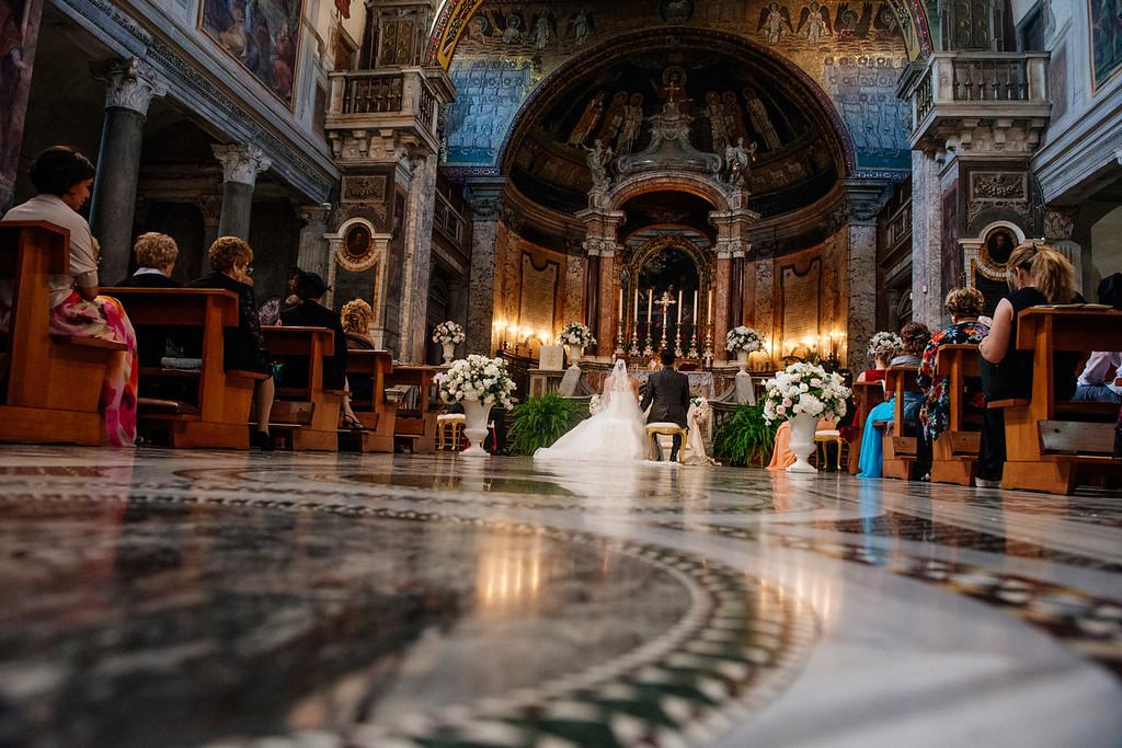 Religious ceremony Santa Prassede