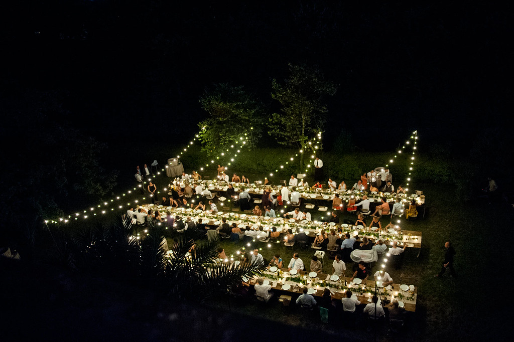 Wedding reception at Villa Fontallerta