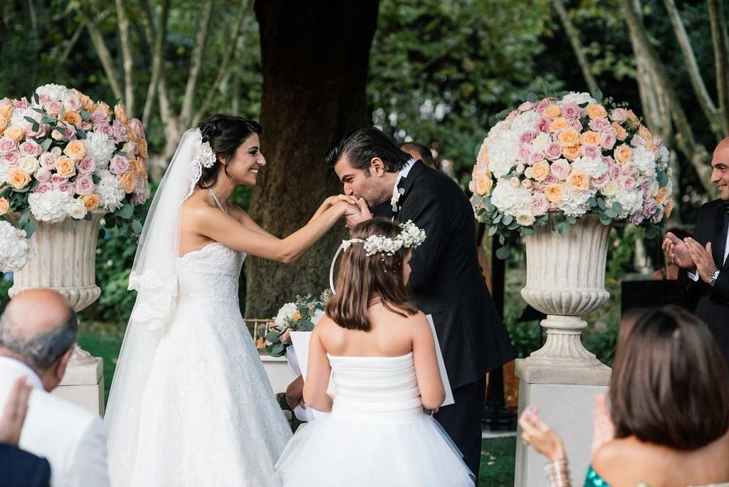 Wedding photography Villa Aurelia