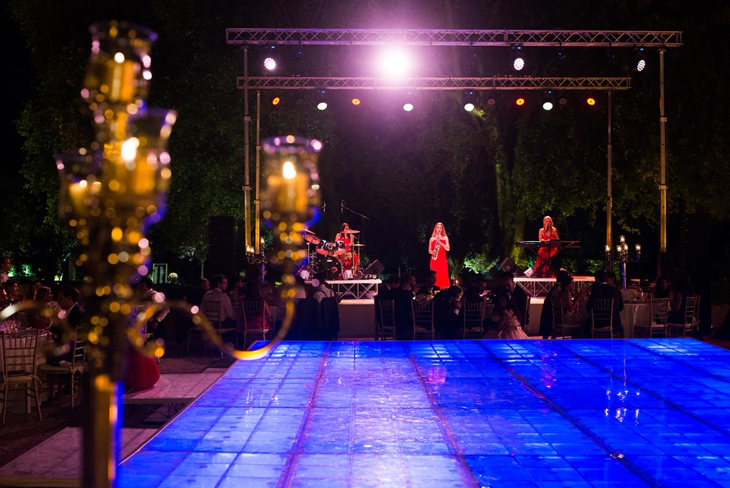 Lady Band Show at Villa Aurelia
