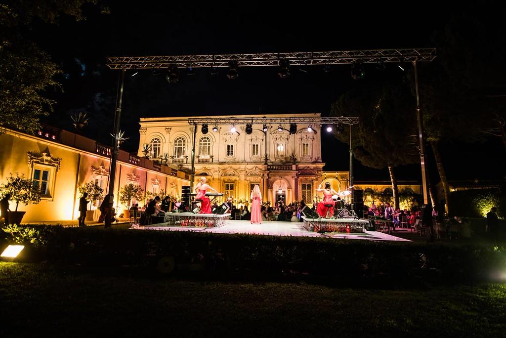 Villa Aurelia setting
