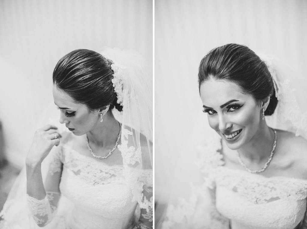 Fashion bridal portraits Kuwait city
