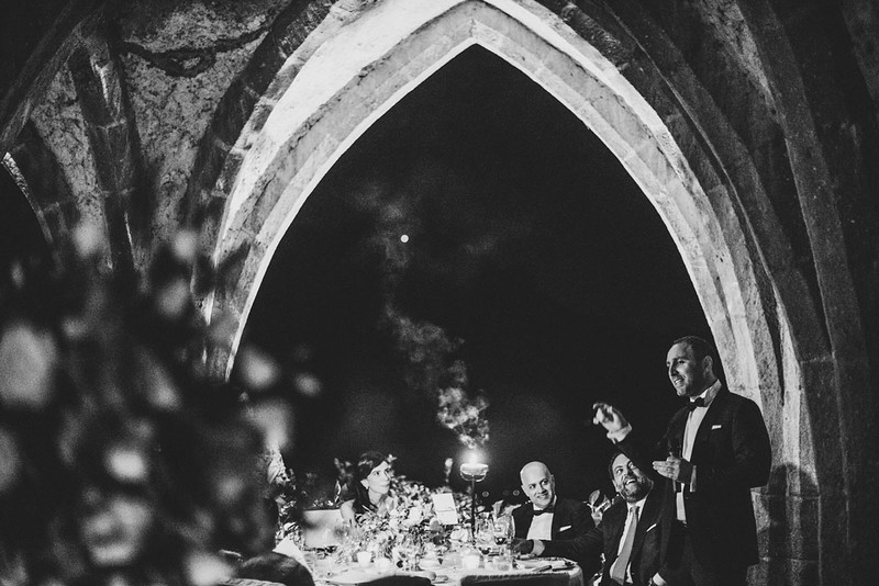 Dinner in the cripta