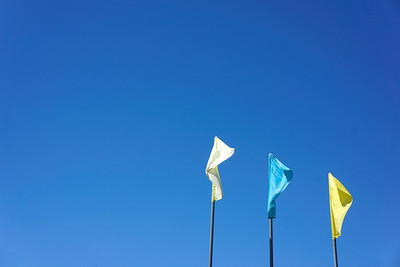 Sky And Flags At McInnis