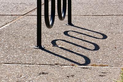Bike Rack Shadow