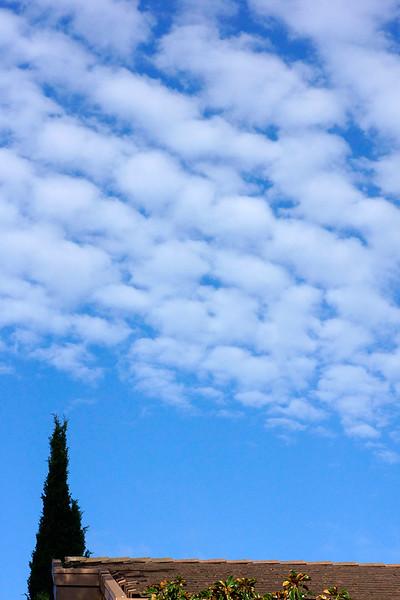 San Rafael CA Clouds