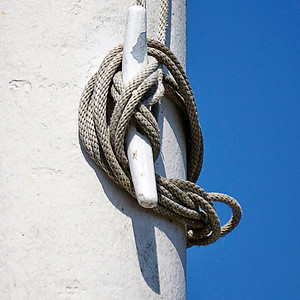 Rope On A Flagpole