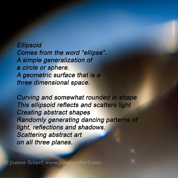 Ellipsoid Artist Statement