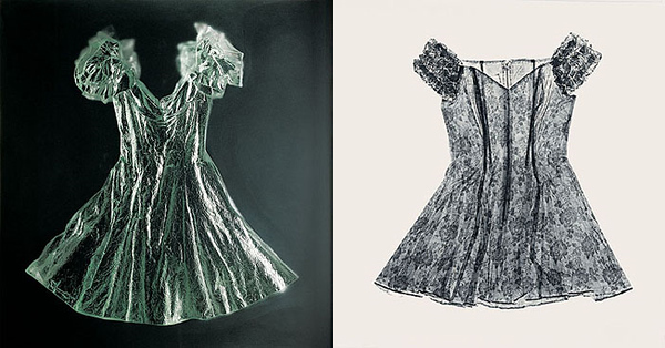 Dress Diptych