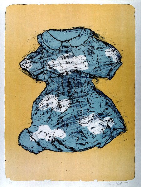 Dress Lithograph Print