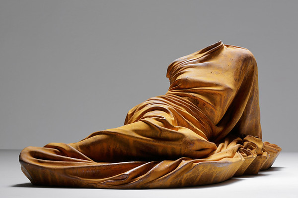 Subversion of the odalisque by feminist artist Karen LaMonte