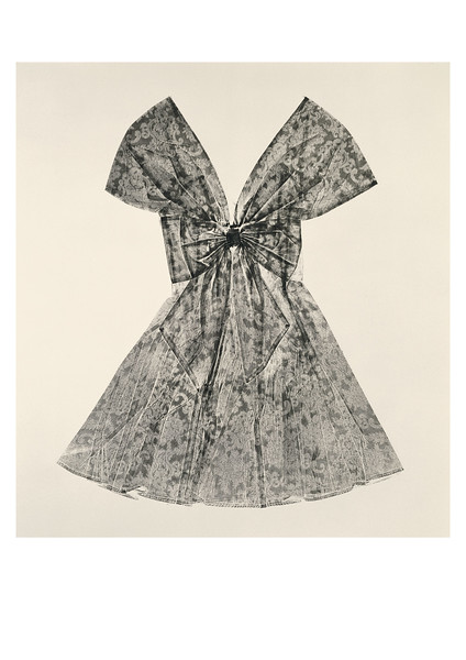 This Sartoriotype is a contemporary artwork of a dress that looks at fashion and culture