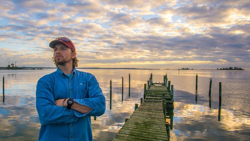 Dreamy Rappahannock Sunrise with the Birds.
