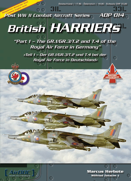 """<p class=""""ContentText""""> Peter J. Mancus, C9P's owner, has reviewed copies of AirDOC's latest publications on U.S. Marine Corps' F-4s and British Harriers, and, as a fellow enthusiast, per the standard """"A"""" to """"F"""" scale, """"A"""" being best, he gives both publications an """"A"""". These AirDOC products deserve an """"A"""" because 1) the selection of photographs is impressive and comprehensive, so much so that Peter saw pictures of airplanes in markings that he never knew existed, and that is after decades of spending a lot of time looking at airplane pictures from various collections and publications; thus, Peter is impressed with the comprehensive selectivity and """"freshness"""" of the pictures from private collections; 2) the publications have strong, sturdy, high quality, thin, paper covers, high quality glossy paper, and the printing and detail of the pictures on the glossy paper are superb; 3) the pictures' captions are informative; 4) the publications are well laid out and informative with interesting, succinct, text that is not a re-hash; and 5) the publications are of the same handy size and are a nice, convenient, dense pack of solid information and good to great pictures.  </p> <p class=""""ContentText""""> Peter, for years, traded original slides with one of the finest airplane photographers he has ever traded pictures with, Wilfried Zetsche, of Germany. Sadly, Wilfried died. Unknown to Peter, Wilfried was also a close friend of Andreas Klein, AirDOC's owner. Andreas acquired much of Wilfried's collection, which included many airplane pictures that Peter took and traded to Wilfried. Andreas then contacted Peter and, this C9P-AirDOC collaboration arose from that contact. </p> <p class=""""ContentText""""> When Peter reviewed the credits in these new AirDOCs publications, he ran a finger tip over Wilfried Zetche's name, with fond memories, with sadness, and with the belief that Wilfried, in heaven, must be pleased that his two friends–Andreas and Peter–are cooperating and making their comb"""