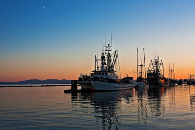 Steveston Harbour Richmond, British Columbia