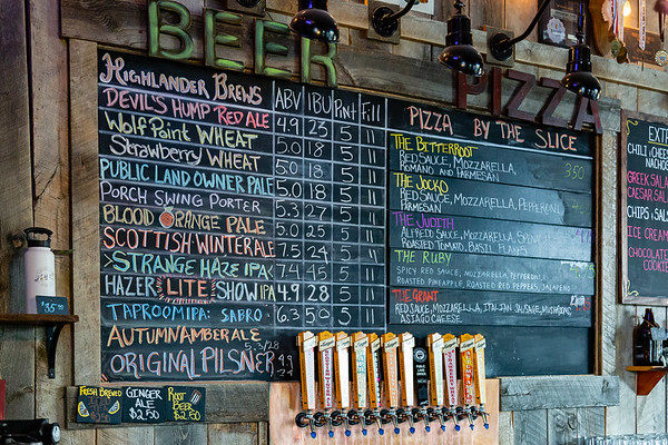 ...to be enjoyed in Highlander's tap room in Missoula.