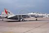 F-14USN-VF-191 0001 A static Grumman F-14 Tomcat USN VF-191 SATAN'S KITTENS USS Independence NAS Miramar 7-1987, by Steve Schaffer