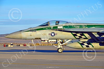 Boeing F-18E-USN 00191 Close up of the nose of a static Boeing F-18E Super Hornet USN VFA-195 DAMBUSTERS commanding officer's airplane CHIPPY HO at NAS Fallon 2-2015 military airplane picture by Peter J Mancus