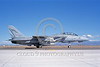 F-14USN-VF-111 0037 A taxing Grumman F-14 Tomcat USN 161144 VF-111 SUNDOWNERS USS Carl Vinson with missile NAS Fallon military airplane picture by Michael Grove, Sr
