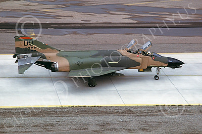 F-4USAF 00047 McDonnell Douglas F-4D Phantom II AFRES 66765 DO Luke AFB 4 March 1983 military airplane picture by Michael Grove, Sr