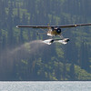 DeHavilland Beaver departing Alaskan Lake.