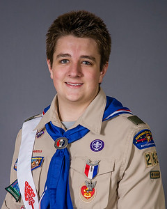 Eagle Scout Court of Honor Portrait