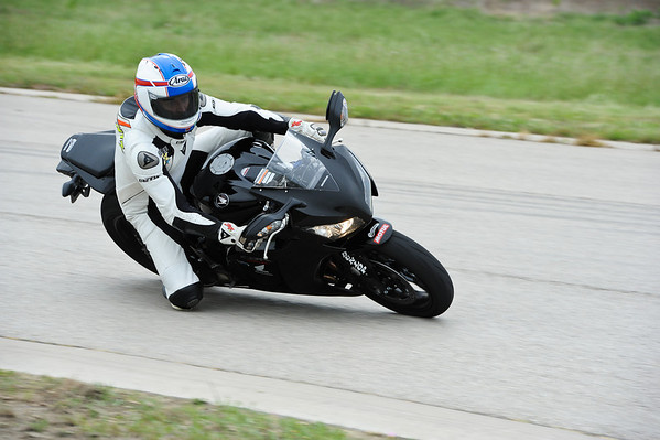 Kevin playing around on the school CBR600RR's.  He makes it look so easy.